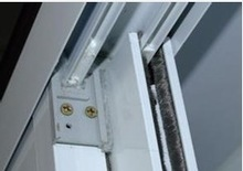 aluminum extruded sections accessories&fittings required for aluminum sliding windows