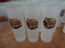 2013 Haonai clear glass espresso cups