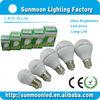 3w 5w 7w 9w 12w e27 b22 ce rohs 2014 5w led bulb light housing