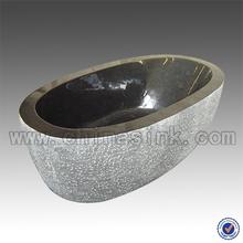 Absolute Black Granite Bathtubs,China Dark Stone Bath tubs