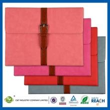Top Fashion stripe leather case for ipad 4