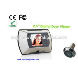 Smart Factory 2.4 inch wide large angle Digital Color Door Eye GW601A-3