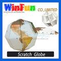 Diy del rasguño mapa de la copa del mundo de bola Winfun nuevo producto