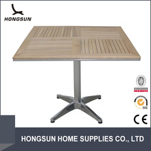 New design hot sale cheap wood table and chairs