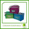 Can cooler bag,whole foods cooler bag,red colorful neoprene bottle cooler bag