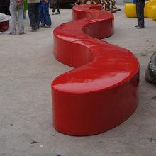 Long 12m fiberglass leisure chair