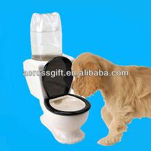 novelty dog toilet bowl