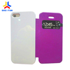 10 colors leather with 3d sublimation blank case