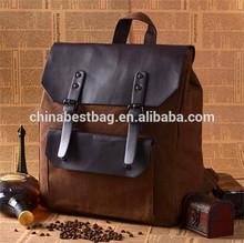 2014 New style vintage vanvas men designer backpack
