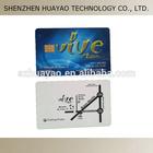 256 bytes SLE5542 Contact Smart Card, contact smart memory card