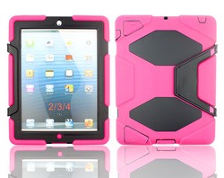 For Apple iPad 2 iPad 3 iPad 4 heavy duty cover case