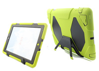 Waterproof case cover for Apple iPad 2 iPad 3 iPad 4 with the screen protector