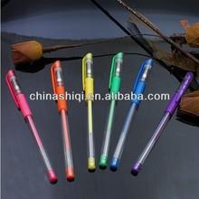 Environmental scented plastic gel ink pen