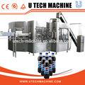 bebida suave de gas y agua que hace la máquina