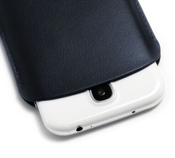 Cheap pouch leather case for samsung galaxy grand duos