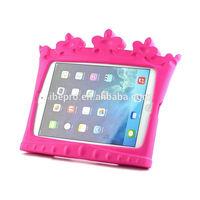 Kid Friendly Crown Durable Handle Case for Apple iPad Mini