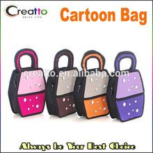 Cute Water Drop Cartoon Bag 3D Cartoon Bag Female Tote Purse Handbag