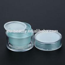 Plastic jar for cosmetic cream 20ml