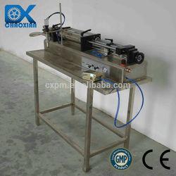 China ChaoXian Semi-automatic pneumatic horizontal Whitening cream filling machinery