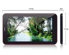 Cheap dual core tablet with sim cards slot, bluetooth phone call tablet 7 inch android 4.2 os