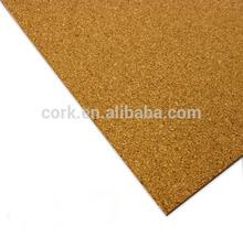 Natural Cork Sheet Cork Roll Flooring Underlayment