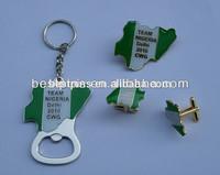 bottom price for sale!!! Nigeria cufflinks, metal team Nigeria cuff links, brass cufflinks for Nigeria Delhi