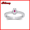 2014 high quality factory wholesale 925 sterling silver ring