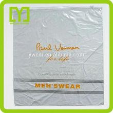 Yiwu china customized cloth packing large plastic bag zipper