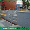 modern and stainless steel outdoor step stair handrail design
