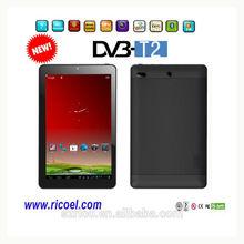 2014 New product DVB-T/ DVB-T2 dual core wifi mid Tablet pc