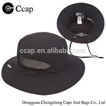 100% Nylon Plain Bucket Hat+String