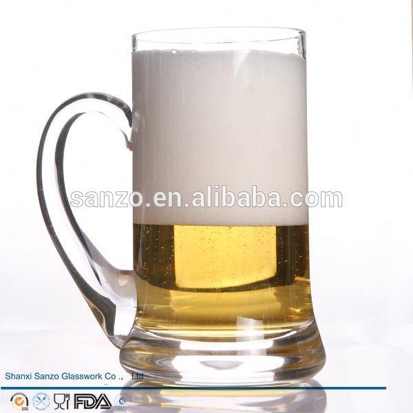 Sanzo personalizado vidro fabricante promocional duff beer vidro