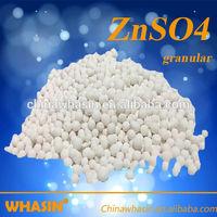 Zn 35% Granular 2-4mm Zinc Sulphate Monohydrate