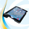 super slim three-folding universal sleeve,for ipad air leather case stand function