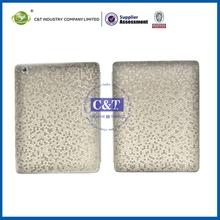 High Quality Art Design Custom ultra slim pu leather case smart cover for ipad 2/3
