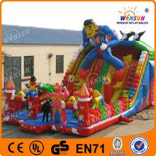 Fantastic professional manufacturer latest style funny inflatable superman slide