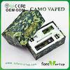 Wholesale dry herb vaporizer/wax dual use vaporizer Camo,camo vaporizer pen,Camoflage camo e cig camo vaped wax vaporizer