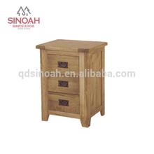 3 DRAWER BEDSIDE/Wooden bedside/Oak bedside/Wooden Night Stand (AD05)