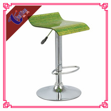 hot sale guangdong swivel lift metal base acrylic bar chair for bar chairs
