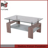 2014 high quality promotion fiber glass coffee table furniture china