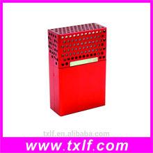 small aluminum alloy storage box for cigarette ,metal cigarette case,aluminum cigarette box