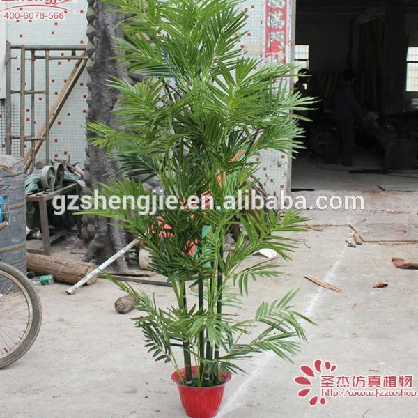 Hoge simulatie bamboe kunstzijde bamboe blad kunstplanten tuin kantoor decoratie product id - Decoratie kantoor ...