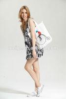 BSCI Audit factory bulk reusable shopping bag / custom printed shopping bag / lady's shopping paper bag