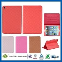 Hot Sale Multiple Colors leather portfolio case for ipad 3