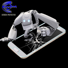 Anti shock 9h 0.2mm 0.3mm cell phone tempered glass screen protector for huawei P6
