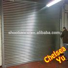 Motorized roller galvanized iron steel door,Automatic zinc-iron roller shutter doors
