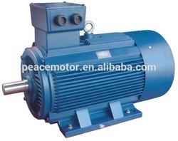 Y2 three phase 5kw electric motor 400v