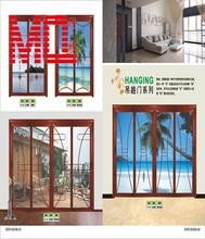 wood alumimnium window in house garage door window inserts aluminum window and door