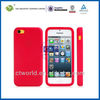 Cell Phone Cover 3d cute soft silicone case cover skin for iphone 5