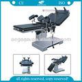 2014 AG-OT002 CE ISO de aço inoxidável elétrica fluoroscopic mesa de operação definição